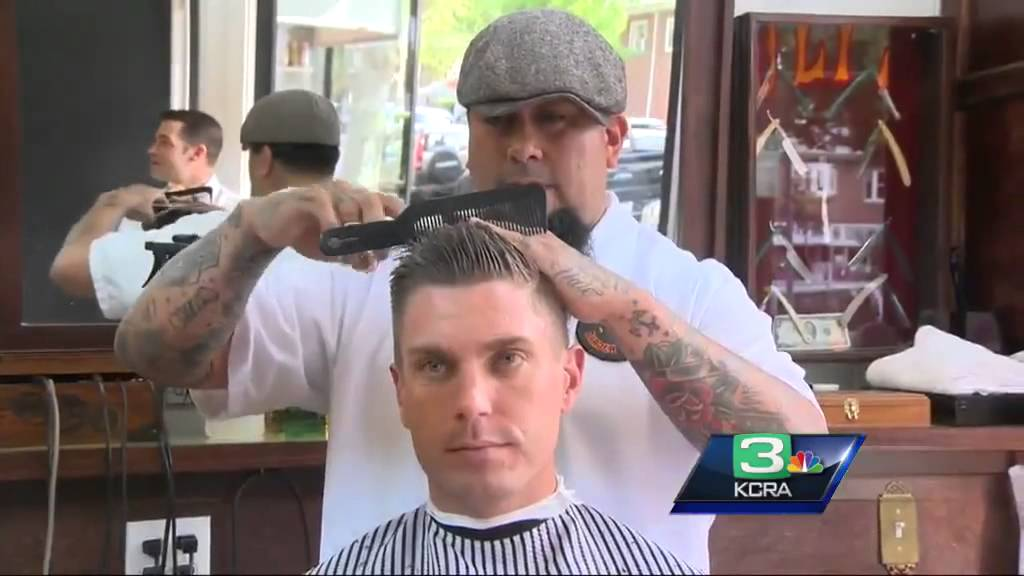 Norcals First Bar Barbershop Gives Fresh Cuts In Sacramento Youtube