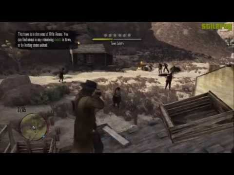 Red Dead Redemption - Undead Nightmare - Saving all New Austin Towns