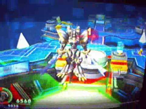 Digimon world 4 - Alphamon and wargreymon X - YouTube