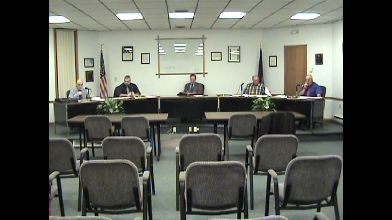 Rouses Point Village Board Meeting  3-20-17