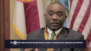The Talk with James Pierre: Commissioner Jean Monestime (Creole)