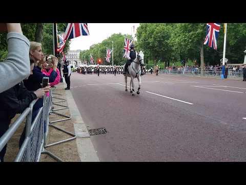 Royal marines massed bands - beating retreat 2018