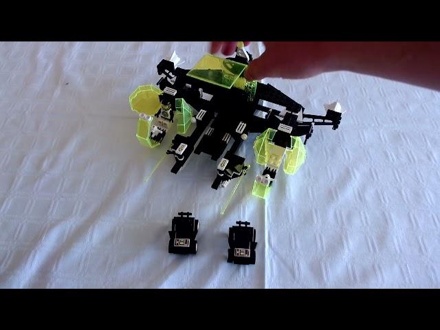Der Lego Aerial Intruder 6981 kommt geflogen #LegoSpace