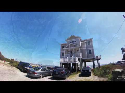 1st Surf lesson at Folly Beach Charleston SC GoPro POV HD