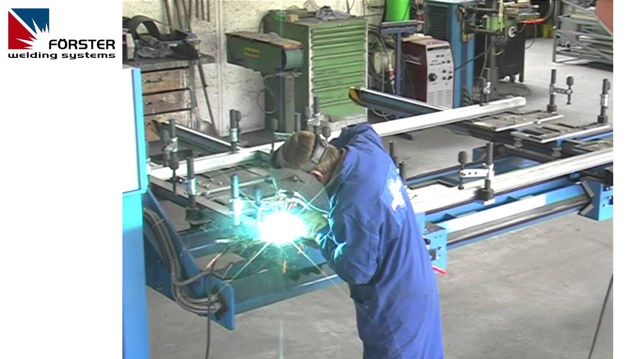 Rahmen Schweissvorrichtung Frame Welding Fixture