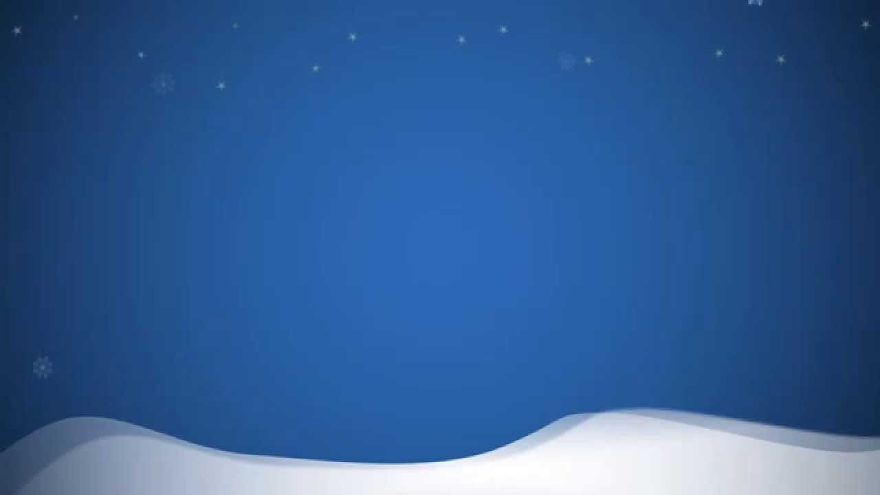 animated snowflakes (white) for powerpoint - youtube, Powerpoint templates