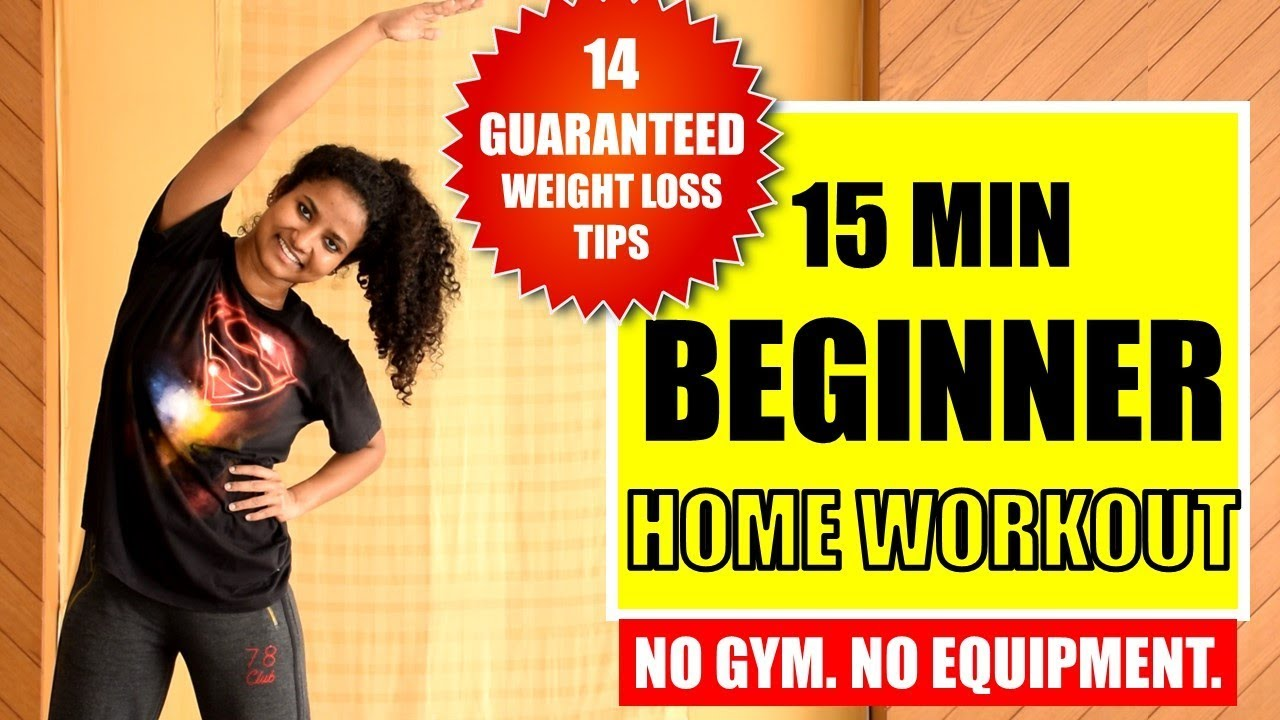 15 Min Easy Fat Burning Home Workout 14 Weight Loss Tips Workout Withme Youtube