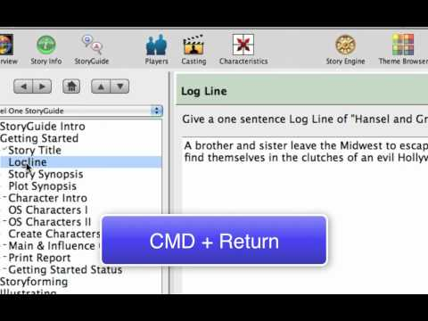 using the character generator in dramatica story expert mp4