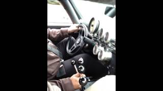 Kilduff Lightning Rod Shifter in a 68 Pro Street Camaro