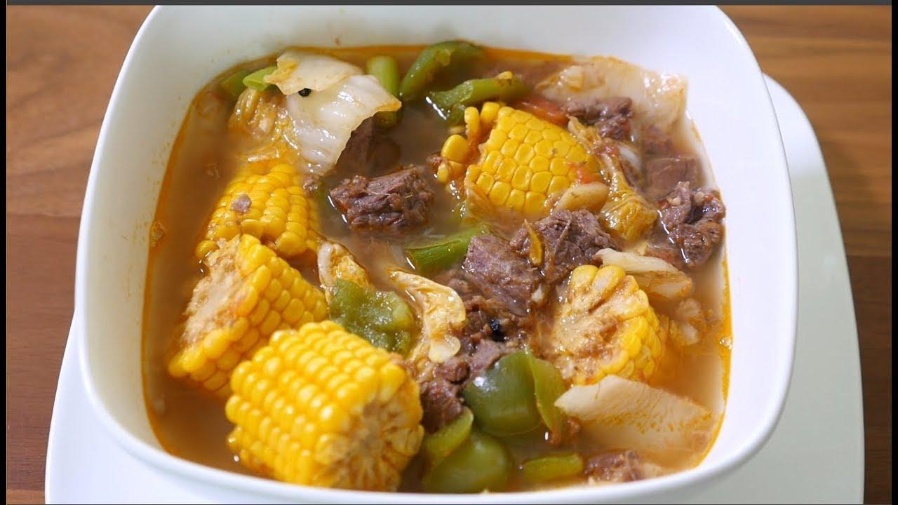 Beef Bulalo Recipe ( Beef Stew Filipino Style ) - YouTube