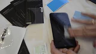 Обзор защитного бронестекла для экрана IPhone 7 plus и 8 plus ROCK Protective glass с Aliexpress