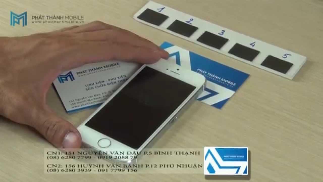 Sửa iPhone 5S không sạc được | Phát Thành Mobile