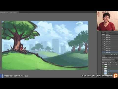 KNKL SHOW #194: Painting backgrounds with atmosphere!