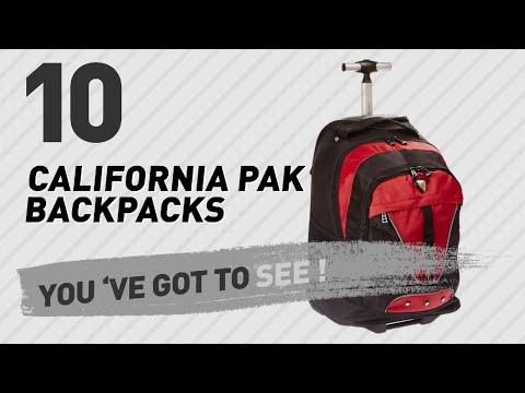 Top Backpacks By California Pak // New & Popular 2017