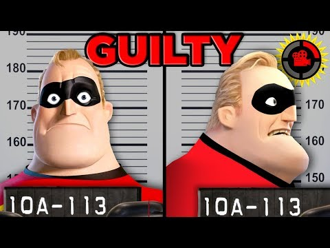 Film Theory: Can You SUE a Superhero? (Disney Pixars The Incredibles)