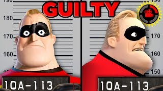 Film Theory Can You SUE a Superhero Disney Pixar s The Incredibles