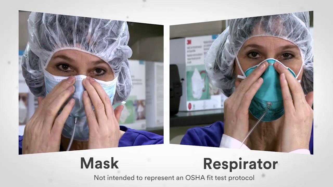 health care respirator mask
