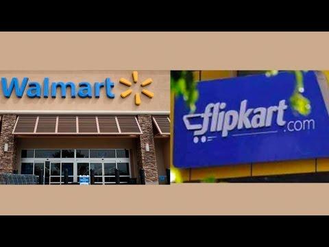 To Battle Amazon, Walmart May Invest $1 Billion In Flipkart