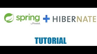 Part 8 - Spring and Hibernate - Storing values to a Database