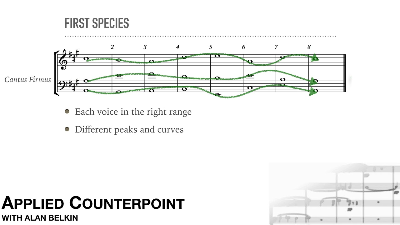 Counterpoint # 8 - three part writing
