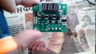w1209. Переделка самого дешового и популярного терморегулятора из Китая.