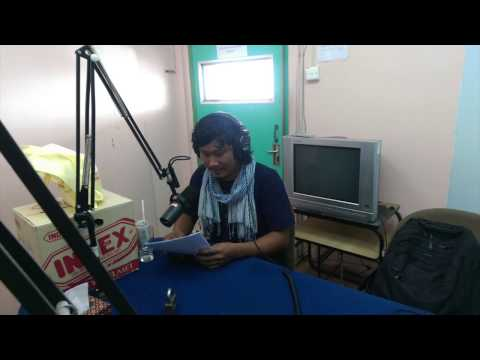 Barcamp Phnom Penh 2015 live Radio