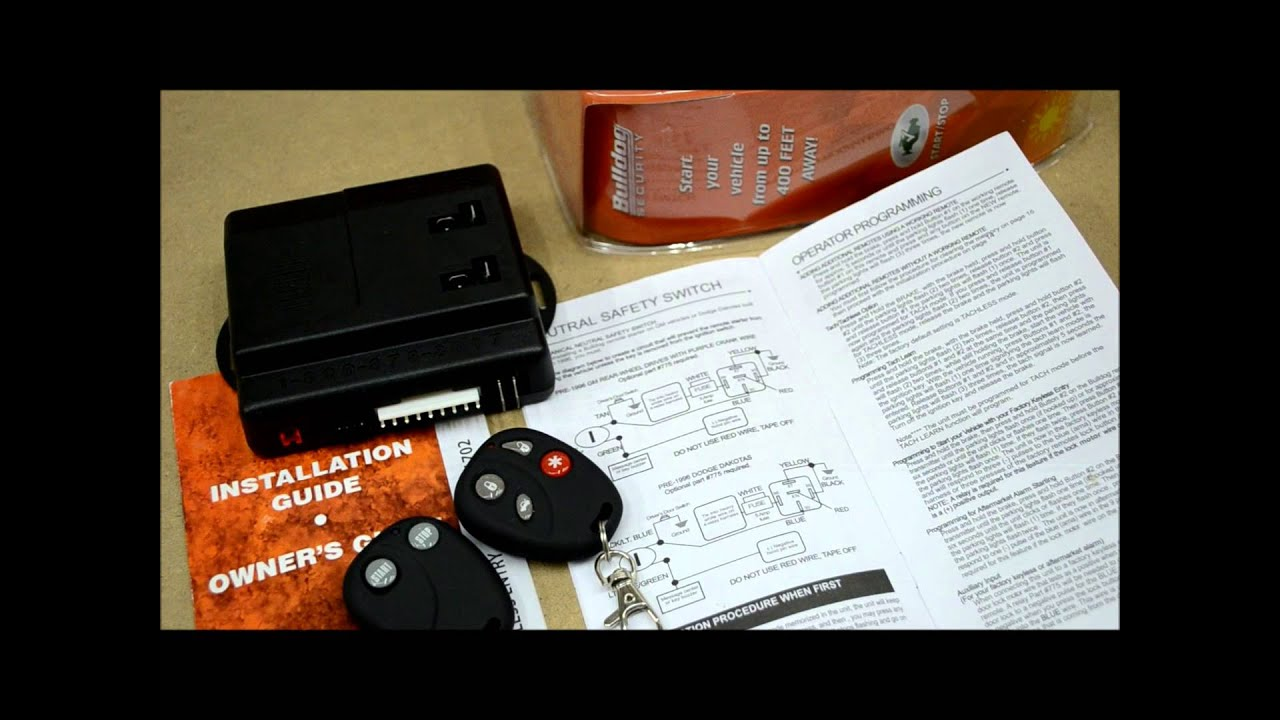 bulldog remote transmitter programming [ 1280 x 720 Pixel ]