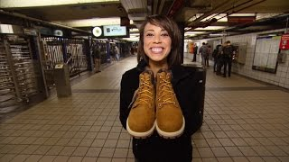 Why This Woman Gave Her Shoes to a Homeless Stranger on Subway