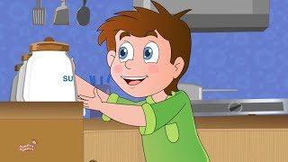 Johny johny Yes Papa | Cartoon Videos For Kids | Children Songs