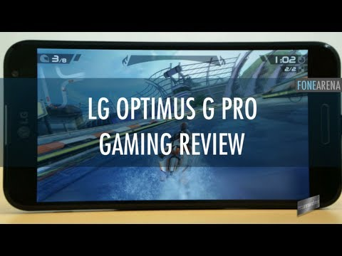LG Optimus G Pro Gaming Review