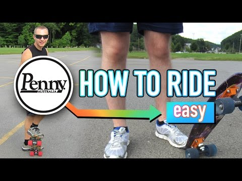 How To Penny Board Easy