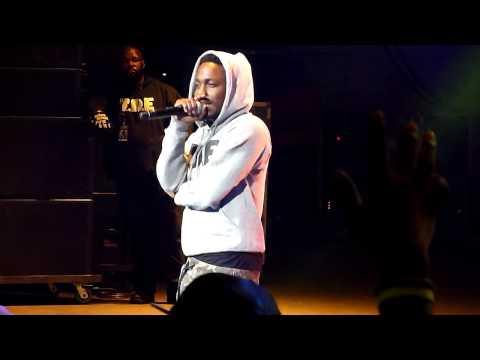 Kendrick Lamar - Hol' Up LIVE!!