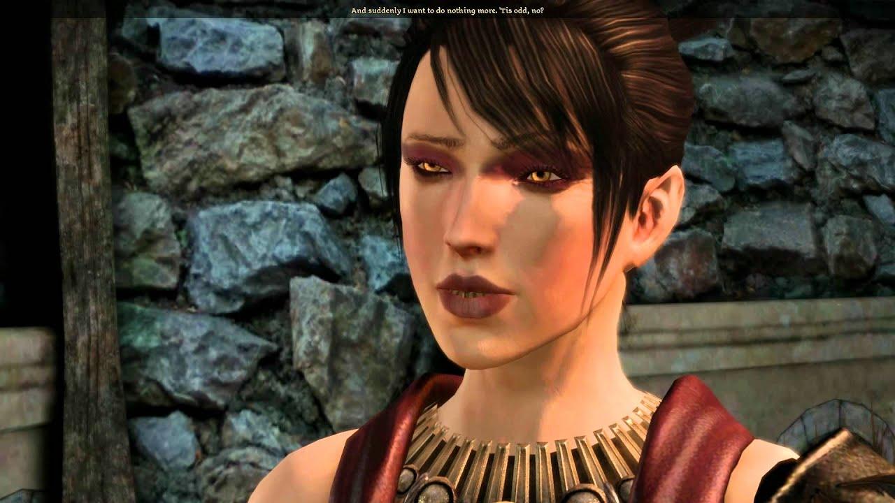 Dragon Age Origins Morrigan Romance Part 18 Kissing Morrigan