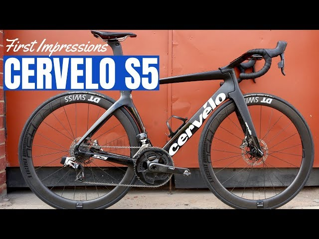 Cervelo S5 First Impressions (A Super Stiff Aero Road Bike!)