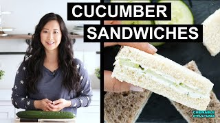 Cucumber Sandwiches in 15 Minutes
