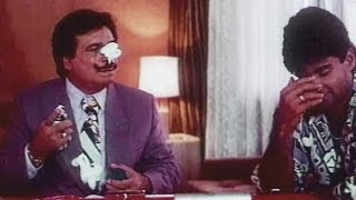 Kader Khan, Sunil Shetty, Surakshaa - Comedy Scene 10/15