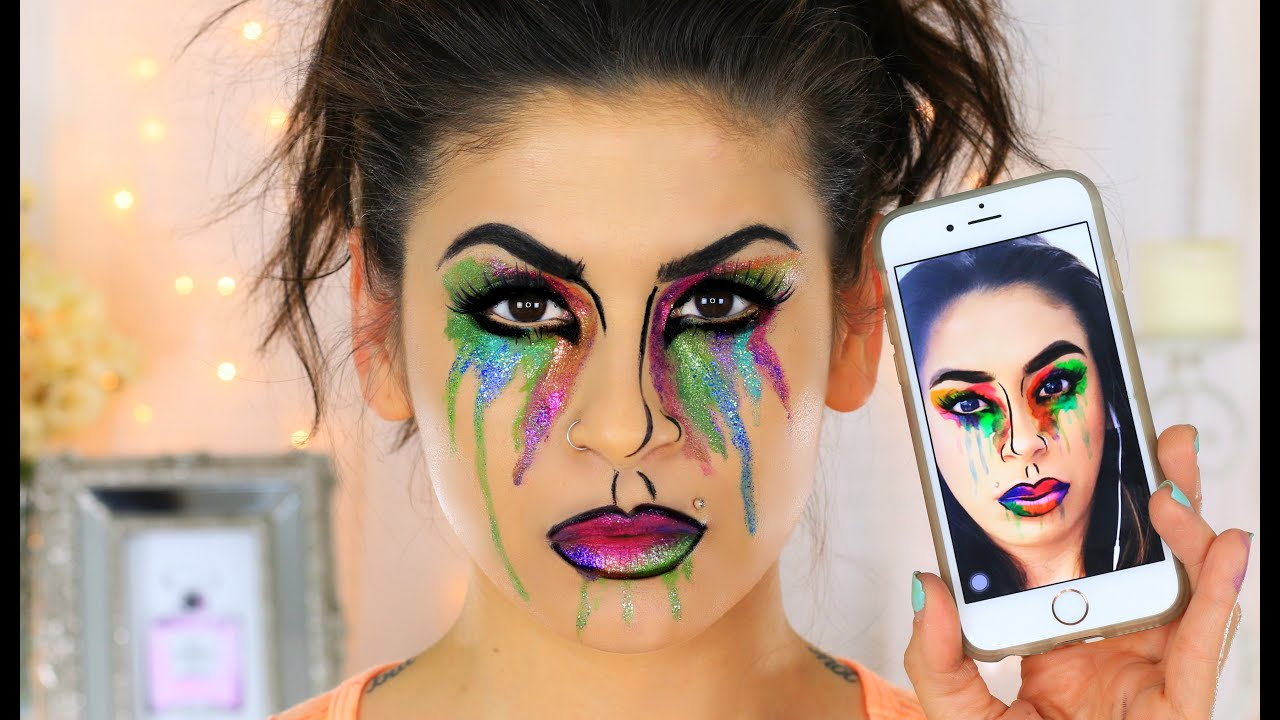 Image result for snapchat inspired makeup