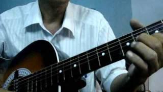 đệm hát guitar bài  vì yêu