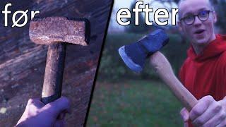 Laver En ØKSE! ud af en Gammel Hammer