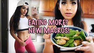 FAT LOSS NOT WEIGHT LOSS? | NEW MACROS