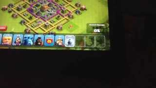 Clash of clans Road to Crystal wartime vs tyu part 1