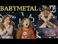 DAD AND DAUGHTERS REACTIONS TO BABYMETAL - Ijime - Dame - Zettai  - Live at Sonisphere 2014 - UK