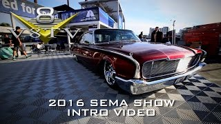 2016 SEMA Show V8TV Video Coverage Intro