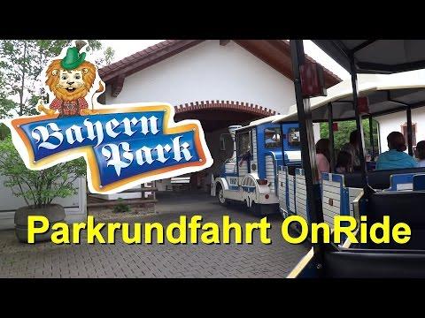 Bayern Park - Parkrundfahrt OnRide - Dotto-Zug - Parkvideo - Bayern-Park - Das Freizeitparadies