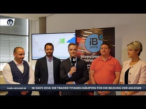 IB-DAYS 2018: Die XM-Trader-Titanen kämpfen für die Bildung der Anleger