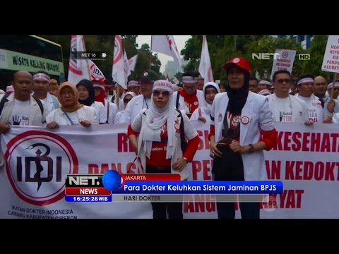 Ribuan Dokter Protes akan Sistem Jaminan BPJS di Jakarta - NET 16 Mp3