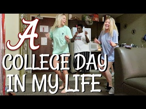 COLLEGE DAYS IN MY LIFE | UNIVERSITY OF ALABAMA