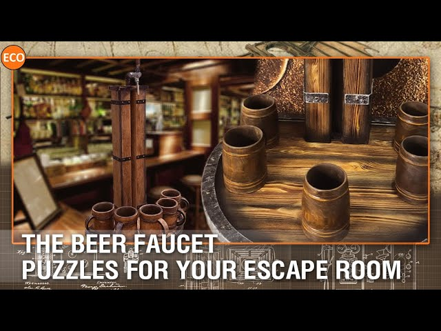 The Beer Faucet - Puzzles for your escape room