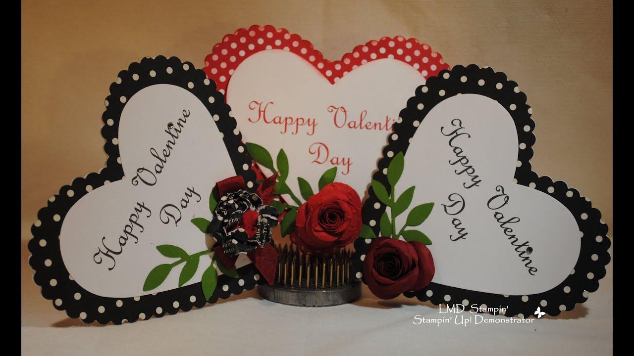 heart shape valentine card youtube