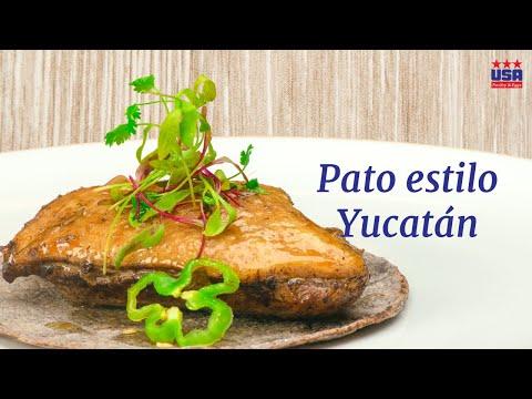 Pato estilo Yucatán
